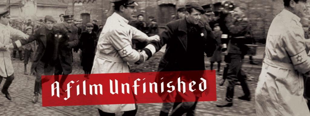 """Proiezione di """"A Film Unfinished"""""""