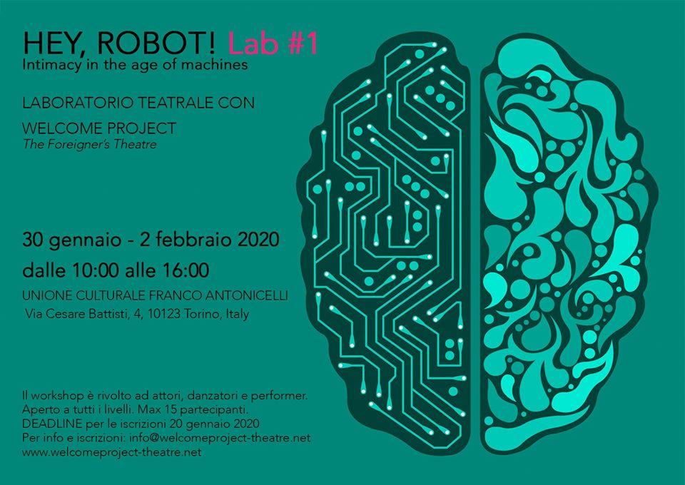 laboratorio Hey Robot